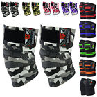 Be Smart Knee Wraps Weight Lifting Bandage Straps Guard Pads Powerlifting
