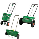 SCOTTS LAWN SPREADER RANGE 4 MODELS FERTILISER GARDEN LAWN GRASS SEED SPREADING
