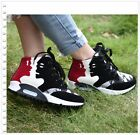 Casual Womens High Top Lace Up Fashion Sneakers Comfort Sports Shoes