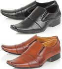 BRAND NEW MENS SMART SLIP-ON OFFICE / WEDDING FORMAL SHOES SIZE 7 to 12