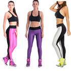 SHOWSTAR Women's High Waistband Ankle Legging Fluorescent Colors Pants for Party