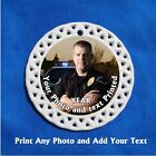 Police Cop  CUSTOM PHOTO Porcelain Gift 3 Formats Officer Chief Law Enforcement