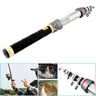Carbon Saltwater Telescopic Fishing Rod 1.5M-2.1M Spinning Casting Portable New
