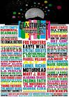 Glastonbury 2015 Music Poster A3 A4
