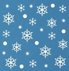 Snowflakes Wall Stickers Kids Disney Frozen Themed Bedroom Art Free P&p!