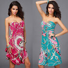 Summer Womens BOHO Cocktail Evening Party Bodycon Maxi Beach Dress Sundress New