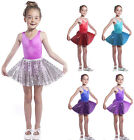 Girls Sequin Sparkle Show Skirt. 3,4,5,6,7,8 years Red, Pink, Purple, Blue, Gold
