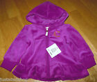 Juicy Couture baby girl velour tracksuit top cardigan jacket 3-6 m BNWT designer