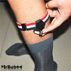 2016 New Men's Women's Double Clips Socks Garters Suspenders,Men's Socks Belt