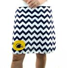 Chevron San Diego Chargers Gameday A Line Striped Sport Women Skirt XS ~ XL