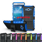 Hybrid Impact Armor Rugged Case Stand Cover For Samsung Galaxy Grand Prime G530
