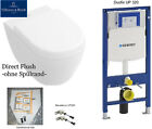 Geberit UP320 Villeroy&Boch Subway 2.0 WC ohne Spülrand, Directflush, C+