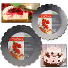4 x LARGE CAKE SILVER FOIL BOARD LAMINATED ROUND SCALLOPED BAKING PARTY WEDDING