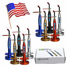 10 SETS Dental Cordless Wireless Curing Light LED Whitening Lamp 1500mw/cm2