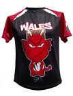 Olorun Wales Mini Dragon North Supporters  Rugby Shirt Size S-4XL
