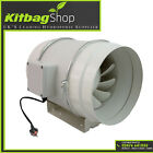 "4"" 5"" & 6"" In Line Fan Extractor Fan 100mm 125mm 150mm"