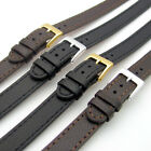 Super long Ladies XXL Leather Watch Strap Band 10mm 12mm 14mm Black or Brown