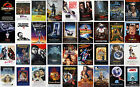 Classic Vintage Movie Posters Goonies ET Willow Jaws Taxi Labyrinth Jurassic ...