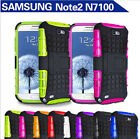 TPU Case Cover For Samsung Galaxy NoteII 2 N7100 N7108 N719 N7102 with Kickstand