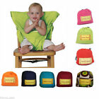 Portable High Chair Baby Infant Seat Washable Highchair Wrap Support Travel Bag
