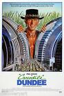 Crocodile Dundee 1986 Film Canvas Wall Art Movie Poster Print Mike Dundee