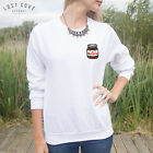 Pocket Nutella Jumper Top Sweater Funny Cute Japanese Grunge Fashion Love Tumblr