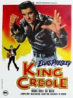 Elvis Presley - King Creole 1958 Film Canvas Wall Art Movie Poster Print Singer