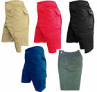 New Mens Excellent Quality Combat Cargo Elasticated Short Pant