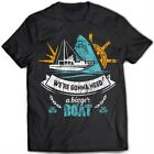 9289 We're Gonna Need A Bigger Boat T-Shirt Jaws Amity Island Quints Shark