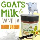 earthbody GOATS MILK & VANILLA HAND CREAM ~ 100% PURE ~ NATURAL ~ ORGANIC
