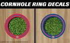 Detroit Pistons Cornhole Ring Bag Toss Cast Vinyl Full Color HD Hole Decals! on eBay