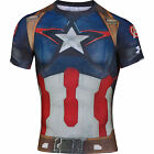 UNDER ARMOUR Captain America Body Compression Baselayer Shirt