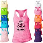 Keep Calm I'm A ListenTo  Mom Burnout Racerback Tank Top