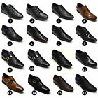 MEN'S FAUX LEATHER FORMAL PARTY WEDDING DRESS ITALIAN SMART OFFICE SHOES