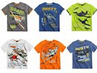 New official cotton boys Disney Planes Cars short sleeve t shirt tops tee vest