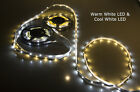 3528 SMD LED Flexible Strip light 12V warm or cool white Low Flat Rate Shipping