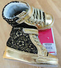 Juicy Couture baby girl shoes booties BNIB 19,  3.5 UK  9-12 m designer JCRIG032