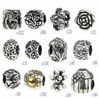Beads Hunter Authentic Sterling Silver .925 Flowers Plants CHARM