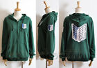 Attack on Titan Shingeki no Kyojin Scouting Legion Allen Cosplay Cotton Hoodie