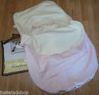 JJ Cole bundle me baby 0-12 m 1 y BNIP Pink Leaf footmuff liner infant girl