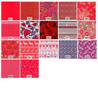 Decopatch Decoupage Printed Paper Red Patterns