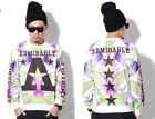 #203 Man Fashion Floral and  Geometric Stars design Printing Sweaters Fleeces