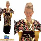 KIDS ORIENTAL CHINESE GEISHA GIRL - Ages 3-10yrs - Girls Fancy Dress Costume
