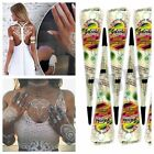 Fresh Excellent Quality Natural Indian Henna Mehndi Hand Tattoo Paste Pen NEW