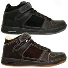 MENS GENTS HI TOP FUR WINTER SNOW WALKING HIKING BOOTS TRAINERS WORK SHOES SIZE