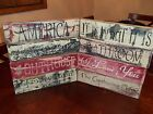 Wood Signs VTG Distressed/Aged Signs Prim Decor Block Signs Country Rustic Signs
