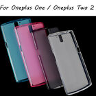 Slim Silicone Gel Soft TPU Back Cover Skin Case For Oneplus One / Oneplus Two 2