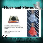 Flashing Kit Stove Wood Burner Roof Shed Flue Chimney High Temperature option