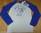 Quiksilver boy longsleeve top t-shirt 9-10 y BNWT  cotton