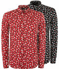 Love Moschino Mens All Over Love Print Shirt